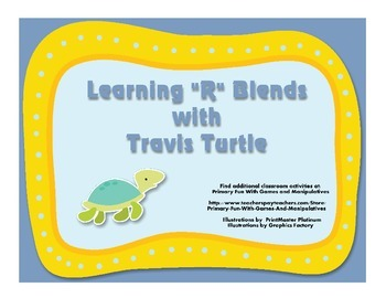 "Learning ""R"" Blends with Travis Turtle"