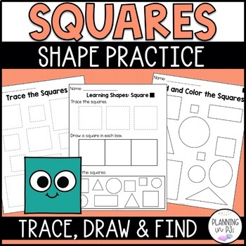 Learning Shapes: Square