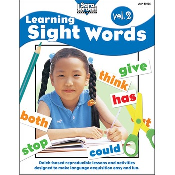 Learning Sight Words, vol. 2