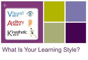 Learning Styles Discovery Part 1