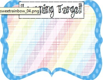Learning Target Poster Pack (3)