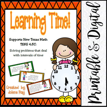 Learning Time!  Elapsed Time and Time Conversions: Math TE