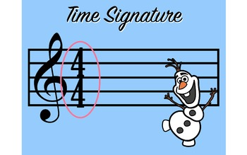 "Do you want to build a Time Signature? With ""Olaf"""