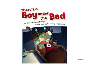 Learning Vocabulary through Reading:  There is a boy under