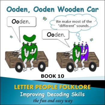 Learning Vowel Sounds Bk. 6 - Ooden, Ooden Wooden Car