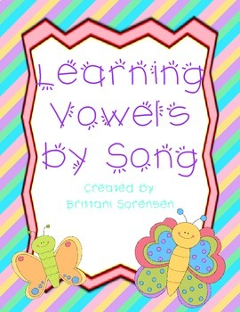 Learning Vowels by Song: Short and Long Vowels and Vowel Names