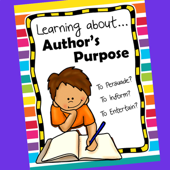 Learning about Author's Purpose