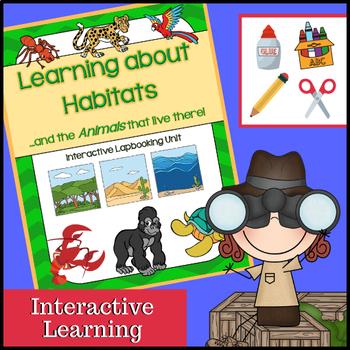 Habitats Interactive (Desert, Rainforest, Wetlands, Ocean,