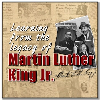 Learning from Martin Luther King Jr.