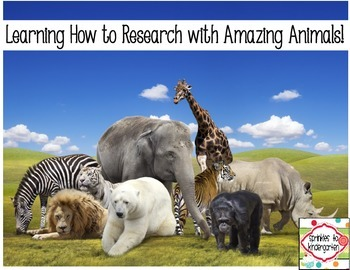 Learning how to research with Amazing Animals!  {Freebie}
