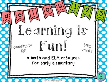 Learning is Fun!  {a math and literacy resource for early