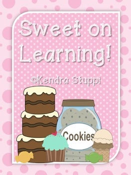 Learning is Sweet - Math and ELA Activities