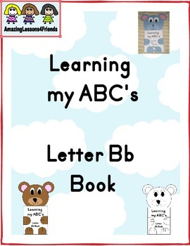 Learning my ABC's Letter Bb Book