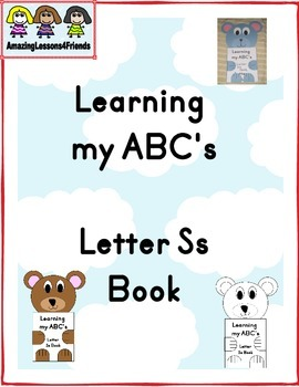 Learning my ABC's Letter Ss Book