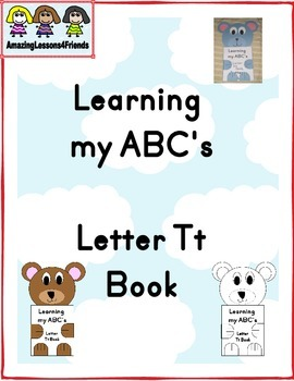 Learning my ABC's Letter Tt Book