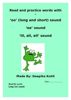 Learning new words with sounds