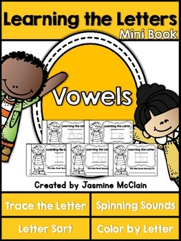 Learning the Vowels Mini Books