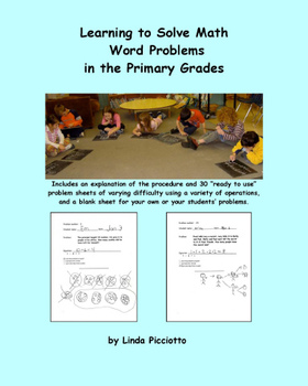Learning to Solve Math Word Problems in the Primary Grades