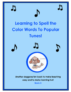 Learning to Spell Colors to Popular Tunes