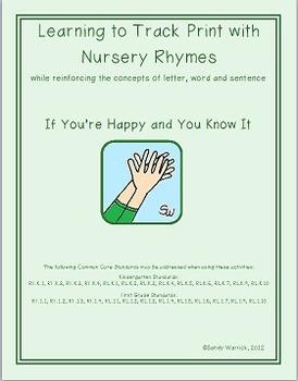 Learning to Track Print with Nursery Rhymes & Songs: If Yo