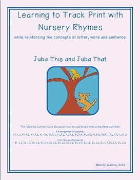 Learning to Track Print with Rhymes: Juba This and Juba That