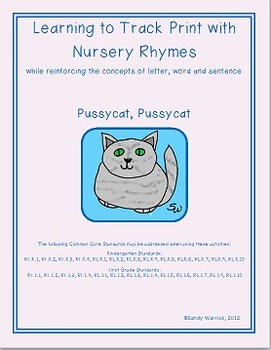 Learning to Track Print with Rhymes: Pussycat, Pussycat