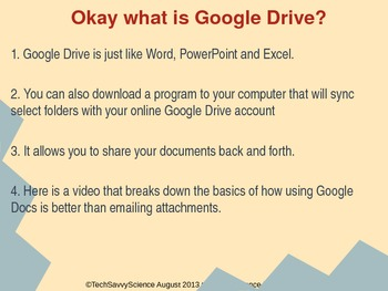 Learning to Use Google Drive