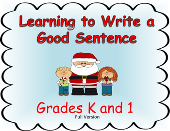 Learning to Write a Good Sentence...Santa Theme FULL VERSION