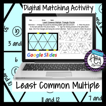 Least Common Multiple Triangle Matching Puzzle - Google Sl