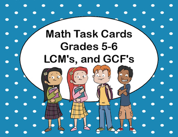Least Common Multiples,and Greatest Common Factors-Grades