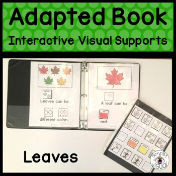 Leaves Adapted Book
