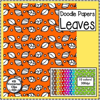 Leaves -  Doodle Papers