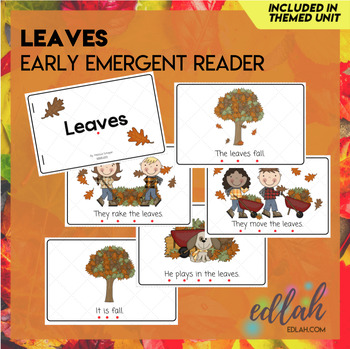 Leaves Early Emergent Reader