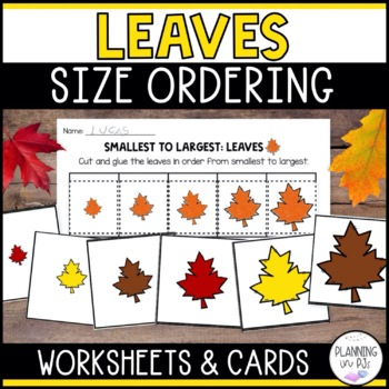 Leaves - From Smallest to Largest