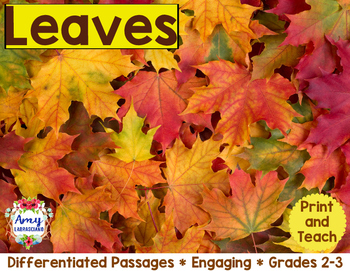 Leaves Reading Passages
