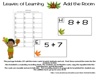 Leaves of Learning Add the Room