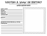 "Leaving a ""Stamp"" on History: Women's History Month Activity"