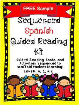 Lectura Guiada! Spanish Guided Reading Book w/Matching Act