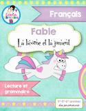 """Lecture- Fable """"La licorne et la jument"""""""