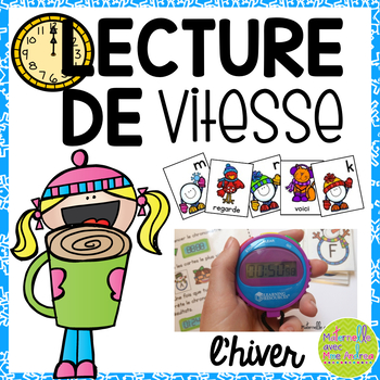 Lecture de vitesse - hiver (FRENCH Speed Reading Fluency P