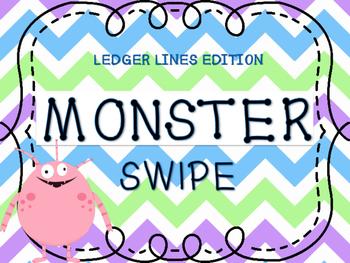 MONSTER SWIPE - LEDGER LINE GAME