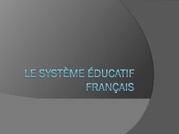 L'education en France/ Le systeme educatif francais: mater