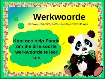 Leer my van werkwoorde