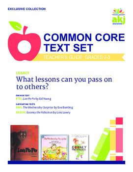 Legacy Common Core Text Set