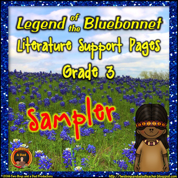 Legend of the Bluebonnet Literature Standards Support Page