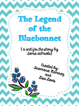 Legend of the Bluebonnet {a unit for the story by Tomie dePaola}