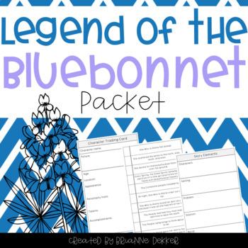 Legend of the Bluebonnet worksheets