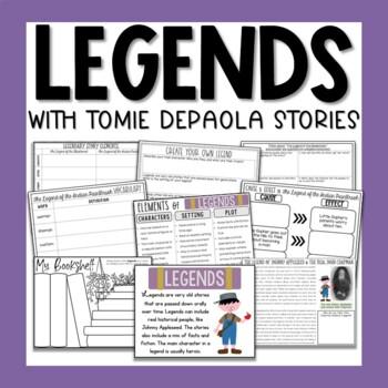 Legends of Tomie dePaola Literacy Unit