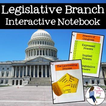 Legislative Branch Interactive Notebook