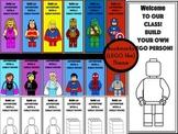 (Lego Like Theme) Bookmarks